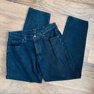 Vintage black Lee Riders classic straight jeans